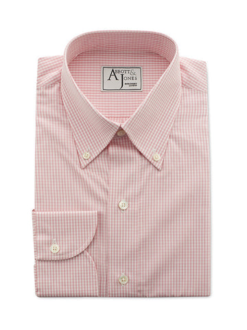 Bespoke - The Pink Gingham Shirt