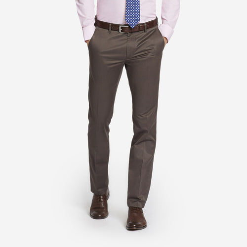 Brown Tailored Chinos