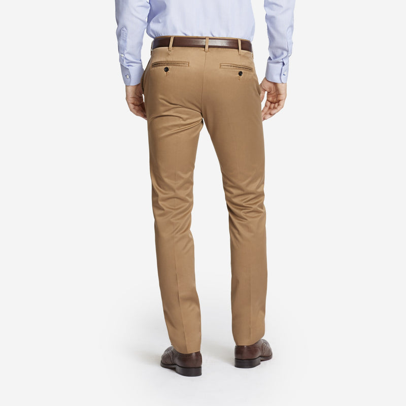 Khaki Tailored Chinos