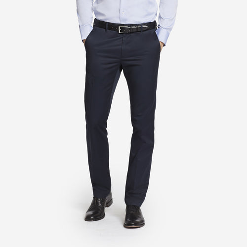 Midnight Blue Tailored Chinos