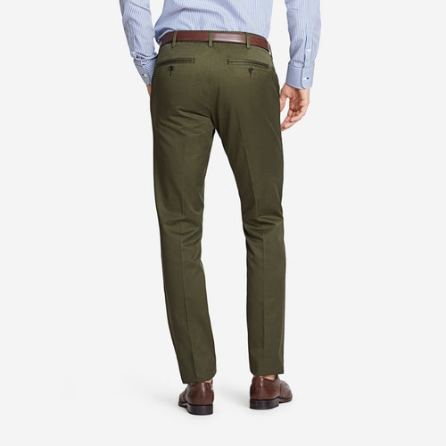 Olive Tailored Chinos