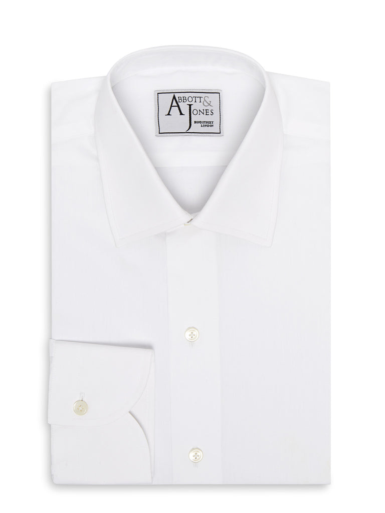 Bespoke - The Essential White Shirt - Button Cuffs