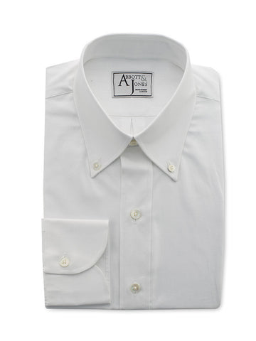 Bespoke - White Royal Oxford Shirt