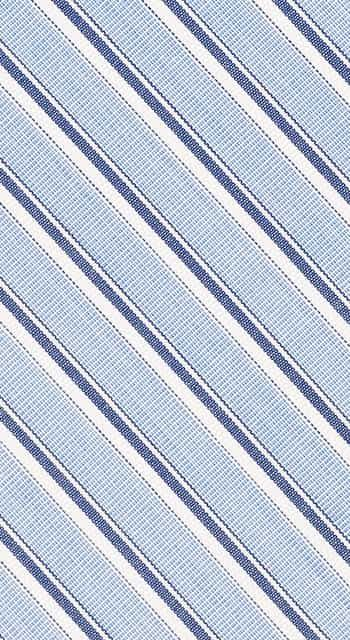 Bespoke -  Light Blue Striped Nightshirt