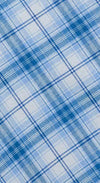 Bespoke -  Blue Checked Nightshirt