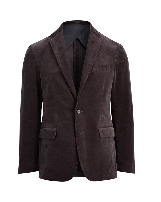 Purple Corduroy Blazer