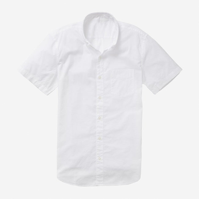 Bespoke - White Short Sleeve Shirt