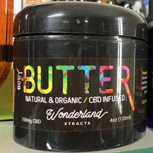 Load image into Gallery viewer, Wonderland Xtracts Natural and Organic CBD Body Butter