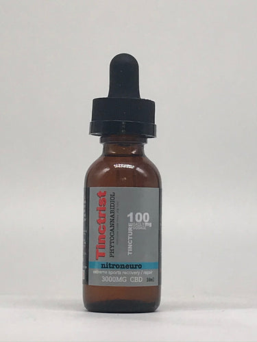 NitroNeuro Advanced CBD Sports Recovery 3000mg by Tinctrist