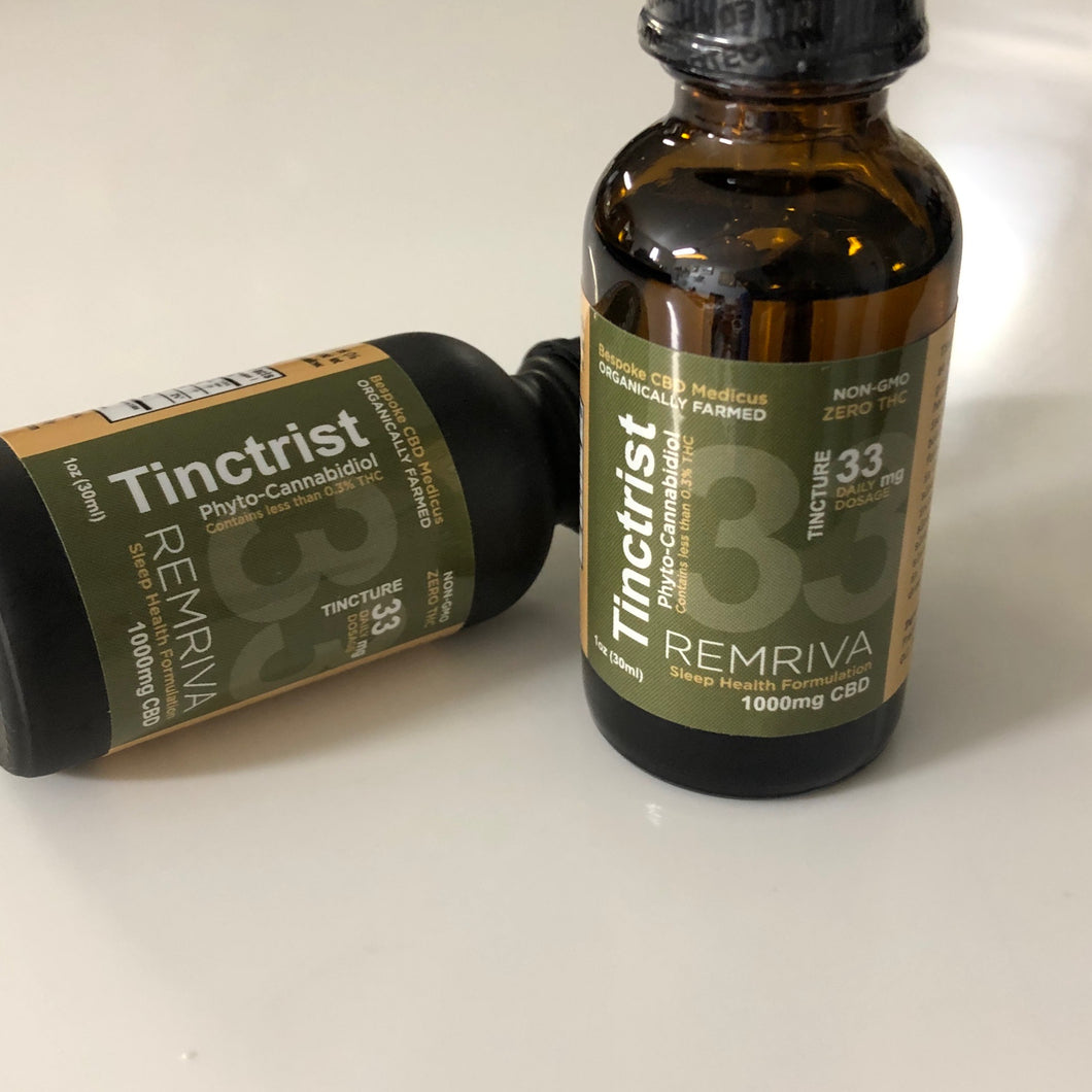 Tinctrist Remriva Sleep Assist CBD Tincture