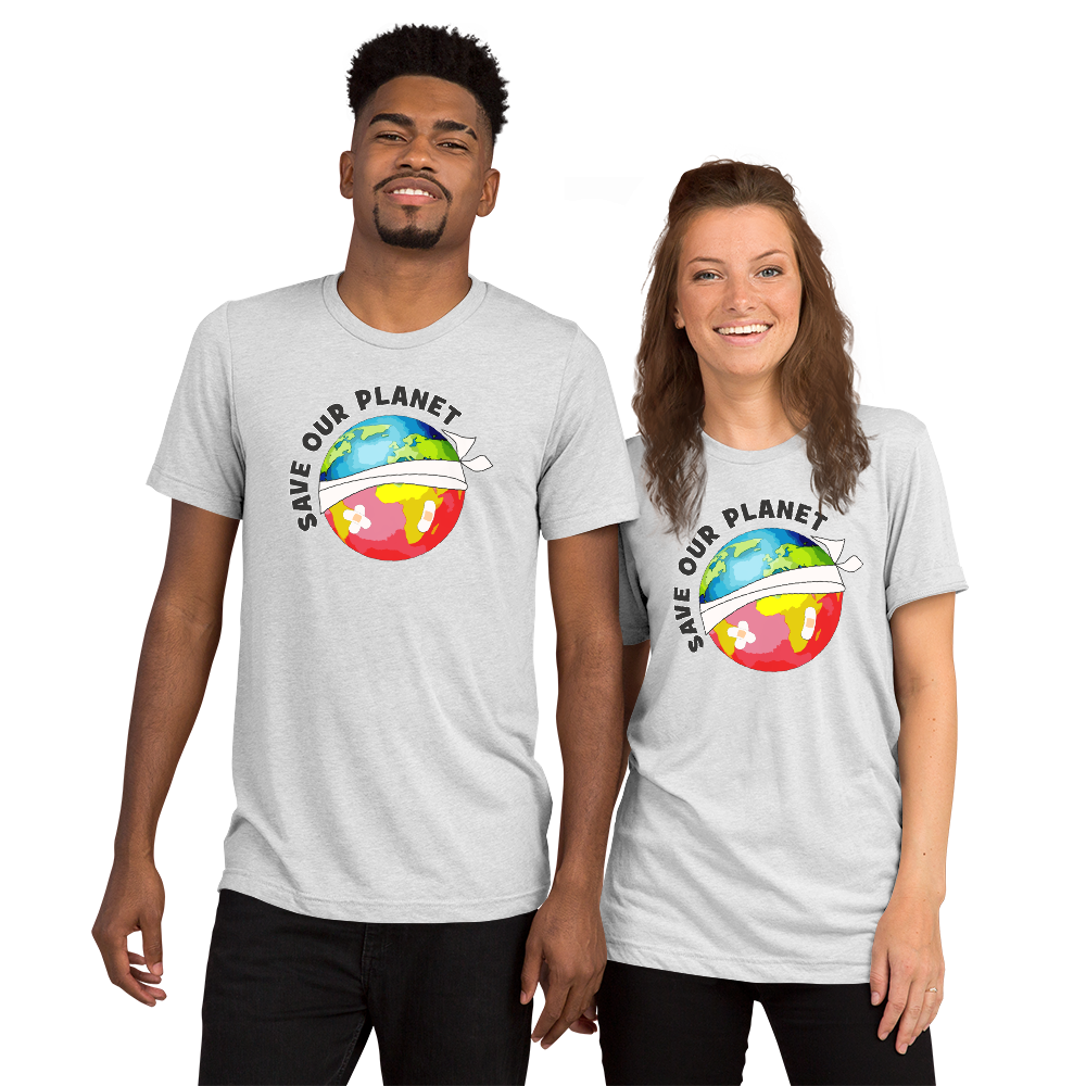 Save our Earth : Short sleeve t-shirt