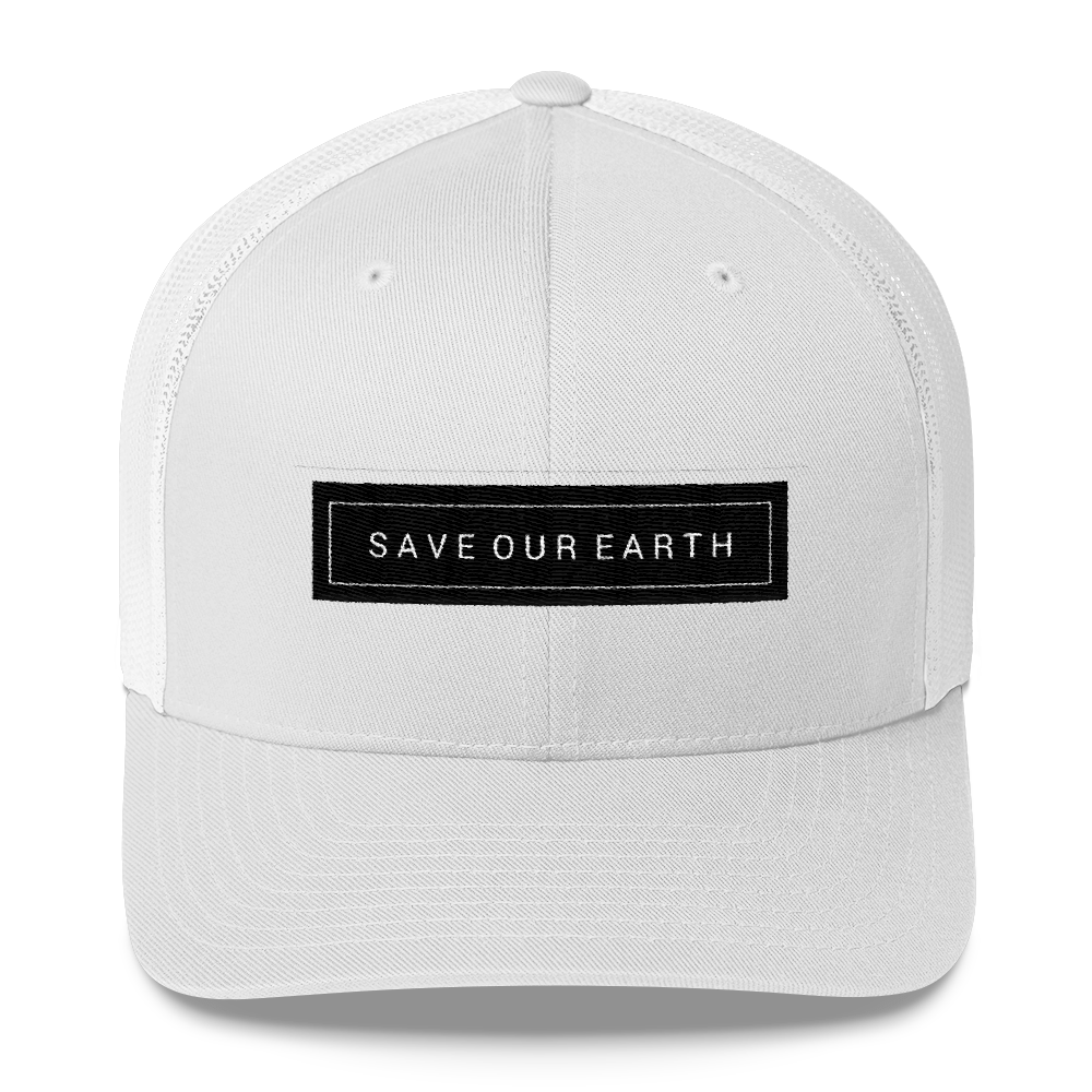 Save Our Earth : Trucker Cap