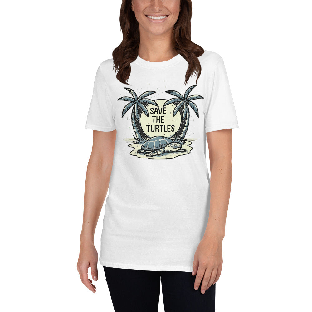 Save our Turtles : Short-Sleeve Unisex T-Shirt