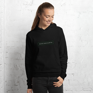 Save our Earth : Unisex hoodie