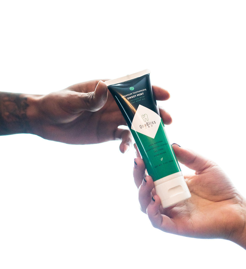 Premium CBD Toothpaste - Sweet Mint (250mg)