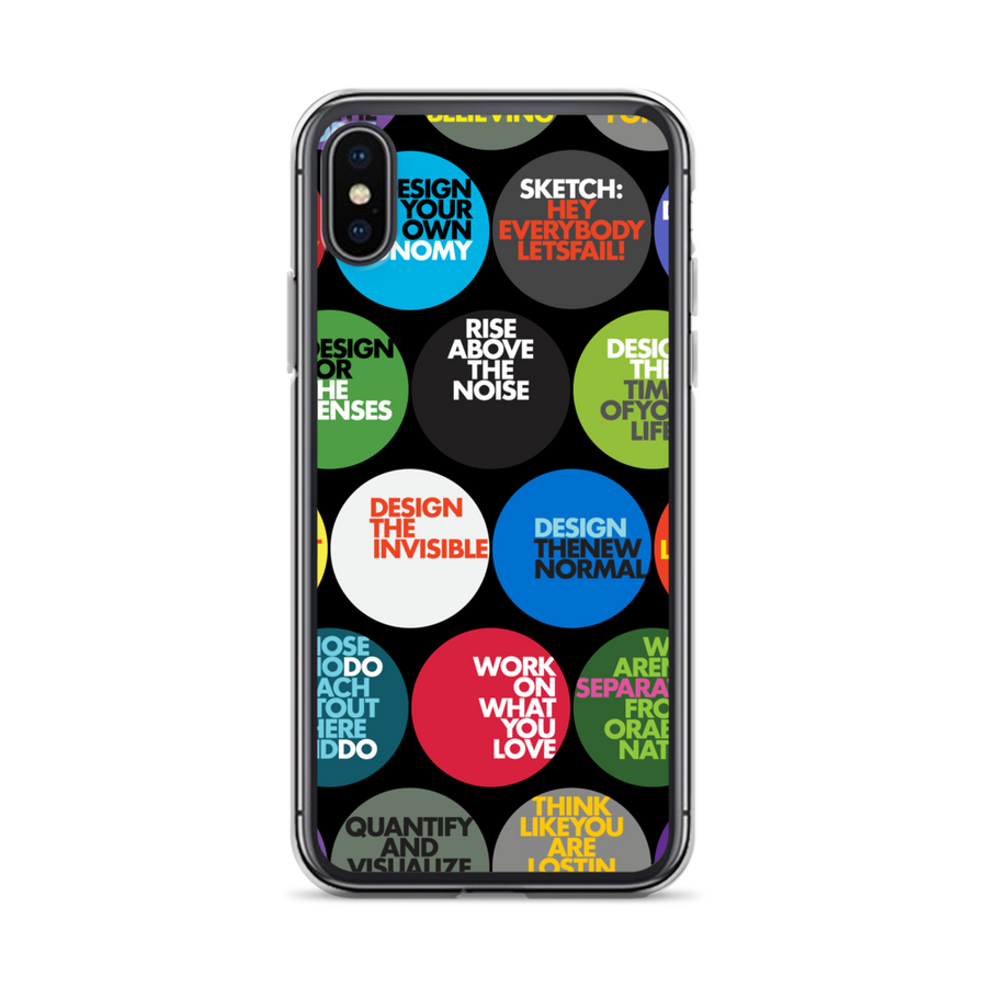 THE MC24 BUTTONS iPHONE CASE