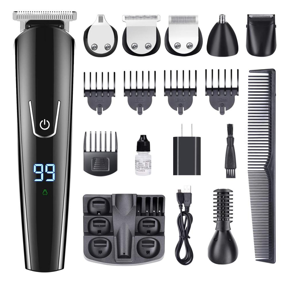KbnMart Hair trimmer hair clipper electric hair clipper electric shaver beard trimmer man shaving machine cut nose - KbnMart