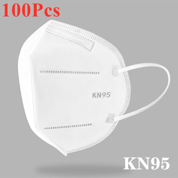 KbnMart Face KN95 dust mask breathable air 95% filter hanging ear mask respirator wholesale custom safe reusable unisex fast shipping