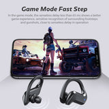 Wireless Bluetooth Earphone Sports Waterproof Wireless Headphone  Touch Control Headphones TWS Earbuds Headsets With Microphone - KbnMart