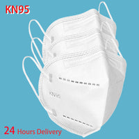 Face KN95 dust mask breathable air 95% filter hanging ear mask respirator wholesale custom safe reusable unisex fast shipping