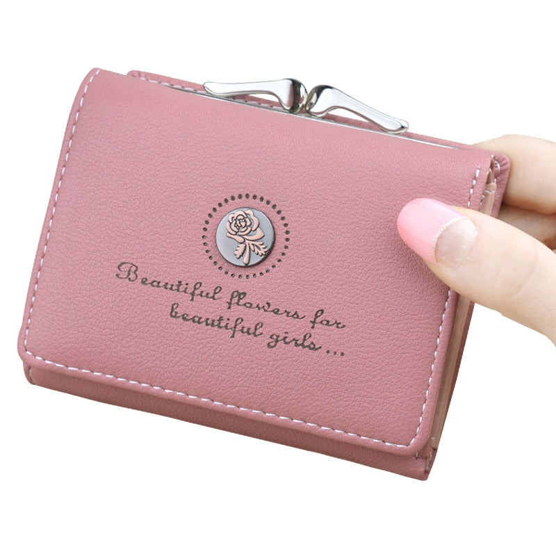 Fashion 2020 Women's Wallet Short Wallets For Women Coin Purse Zipper Clutch Wallet Ladies Card Holder Luxury Small Clutch Bag - KbnMart