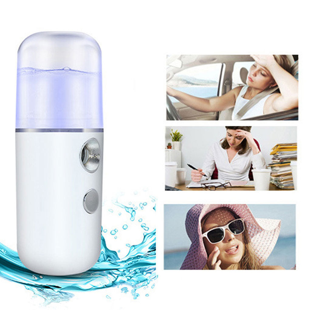 Portable Hydrating Sprayer Beauty Spray Apparatus Humidifier Rechargeable Nano Spray Hydrating Apparatus Cold Spray Apparatus - KbnMart