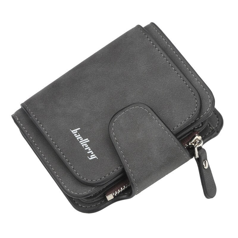 Women's Wallet Leather Female Purse For Women Coins Pocket Card Holder Money Bags Casual Long Lady Clutch Phone Wallet - KbnMart