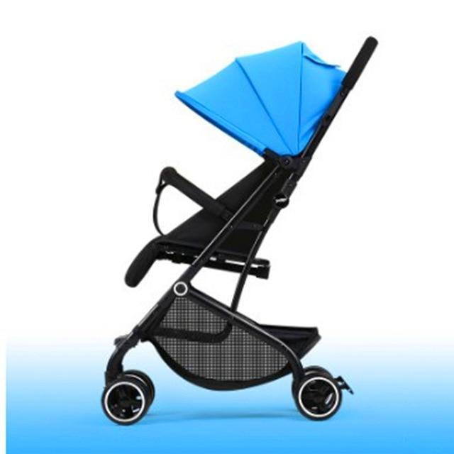 KbnMart Easy to sit and lie on baby stroller ultralight portable folding baby stroller for children 0/1 to 3 years old - KbnMart