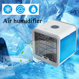 KbnMart Convenient Air Cooler Fan Portable Digital Air Conditioner Humidifier Space Easy Cool Purifies Air Cooling Fan for Home Office