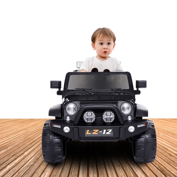 KbnMart 12V Music Function Baby Toy Car 2.4G Rc Car Electric Climbing Rock Crawler Outdoor Toys Vehicle Toy 4 mph with Remote Control