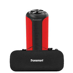 KbnMart T6 Plus (Upgraded Edition) Bluetooth 5.0 Speaker 40W Portable TWS Speaker IPX6 Column with NFC,TF Card,USB Flash Drive