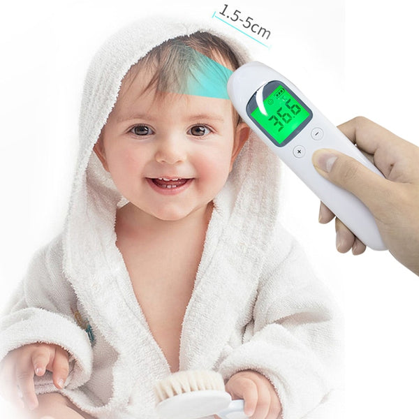 Muti-fuction Baby/Adult Digital Termomete Infrared Forehead Body Thermometer Gun Non-contact Temperature Measurement Device - kbn-mart.myshopify.com
