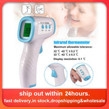 2020 Muti-fuction Baby/Adult Digital Termomete Infrared Forehead Body Thermometer Gun Non-contact Temperature Measurement Device - kbn-mart.myshopify.com