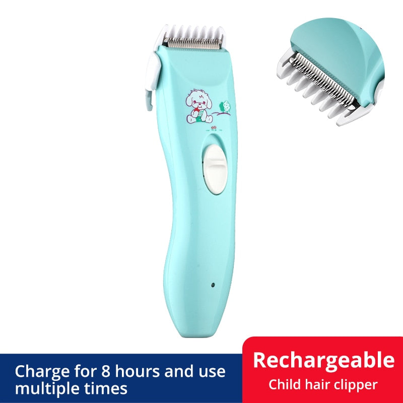 KbnMart Baby Hair Trimmer Electric Hair Clipper USB Baby Shaver Cutting Baby  Care Cutting Remover Rechargeable Quietkids Hair Cutting - KbnMart
