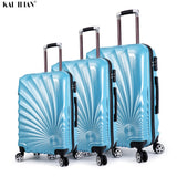 NEW 20/24''28 inch 3PCS rolling luggage set Travel suitcase with spinner wheels Cabin carry on trolley luggage bag  fashion case