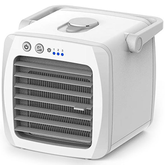 KbnMart SANQ Personal Mini Air Cooler, Humidifiers Portable Desktop Air Purifier Evaporative Cooling Fan For Yoga Picnic Sports Outdoo