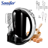 KbnMart 5 Speeds Food Mixers Stainless Steel Dough Mixer Egg Beater Dough Blender With Electric Mixer For Kitchen Cooking 220V Sonifer - KbnMart