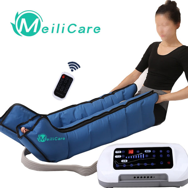 KbnMart CE presoterapia Air Compression Leg Foot Massager lymphatic massage machines Body Relax Pain Relief Machine