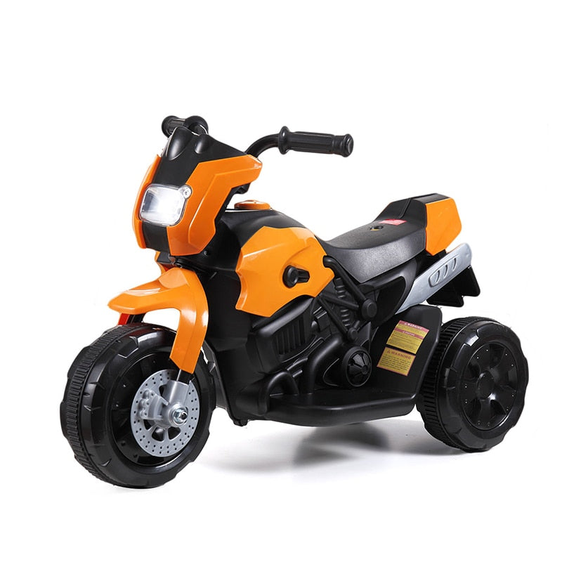 KbnMart Kids Electric Three-wheeled Ride Motocycle Trike Baby Ride On Cool Rechargeable Outdoor Toy Car Children Driving Car Gifts T0811 - KbnMart