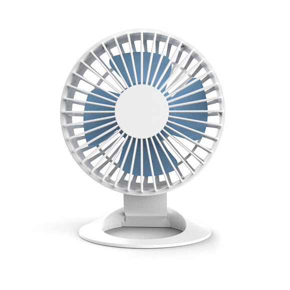 KbnMart Portable Mini Usb Fan Air Cooler Small Desk Battery Fan For Pc Laptop Cooling Fan White