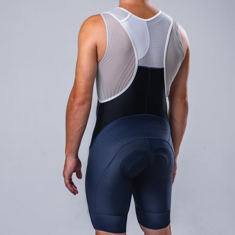 Minimalist Bib Short - Navy Blue