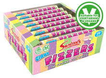 Load image into Gallery viewer, SWIZZELS GIANT FIZZERS ROLLS 40G x24