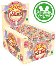 Load image into Gallery viewer, SWIZZELS MEGA DOUBLE LOLLIES x36