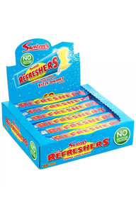SWIZZELS REFRESHER ORIGINAL LEMON CHEW BAR 18G x60