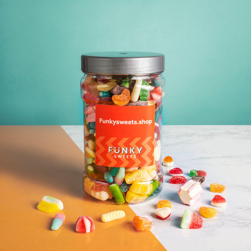 Funky Sweets - Pick n Mix Jar