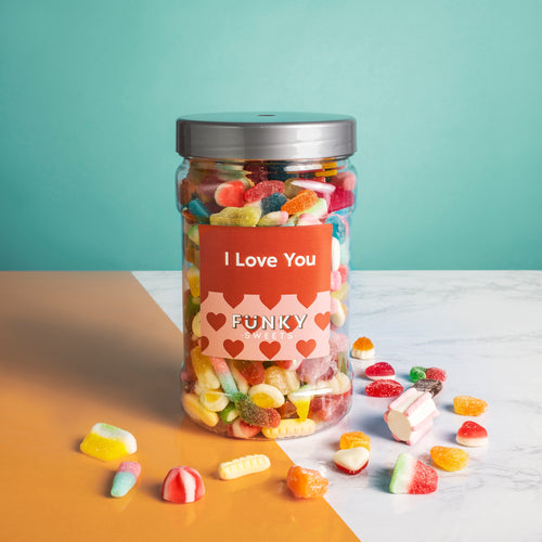 I Love You -  Pick n Mix Jar