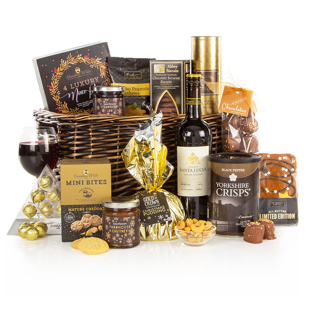 The Christmas Cracker Basket Christmas Hamper