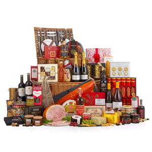 The Epicurean Festive Gift Hamper - Order Now for Delivery On 17th December