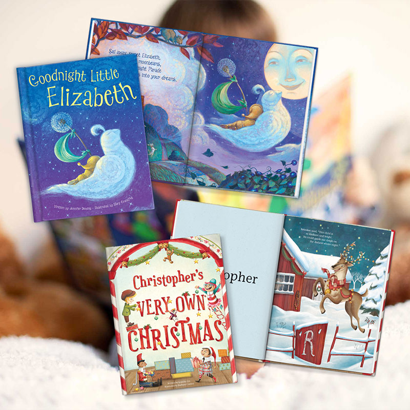 Give A Gift of Personalized Books