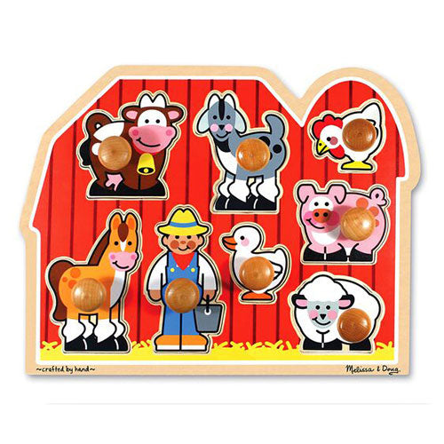 Large Farm Jumbo Knob Puzzle – 8 pieces